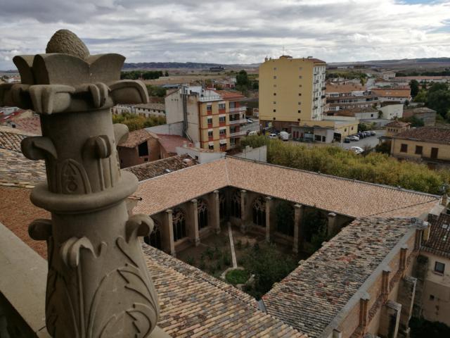 ESTRUCTURA Y CUBIERTAS DEL CLAUSTRO DE LA IGLESIA SANTA MARÍA DE LOS ARCOS