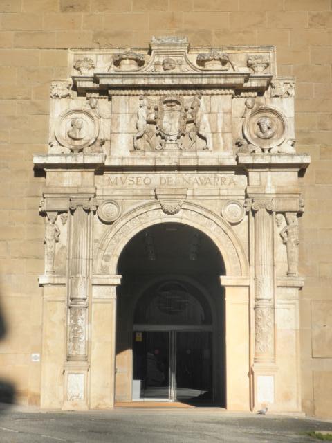 INTERVENCIÓN EN FACHADA PRINCIPAL DEL MUSEO DE NAVARRA